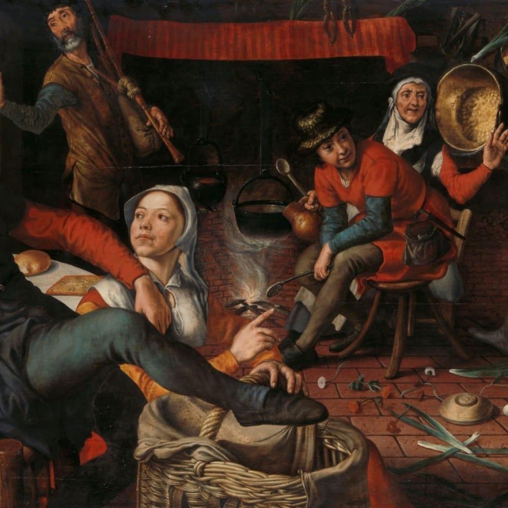De eierdans - Pieter Aertsen