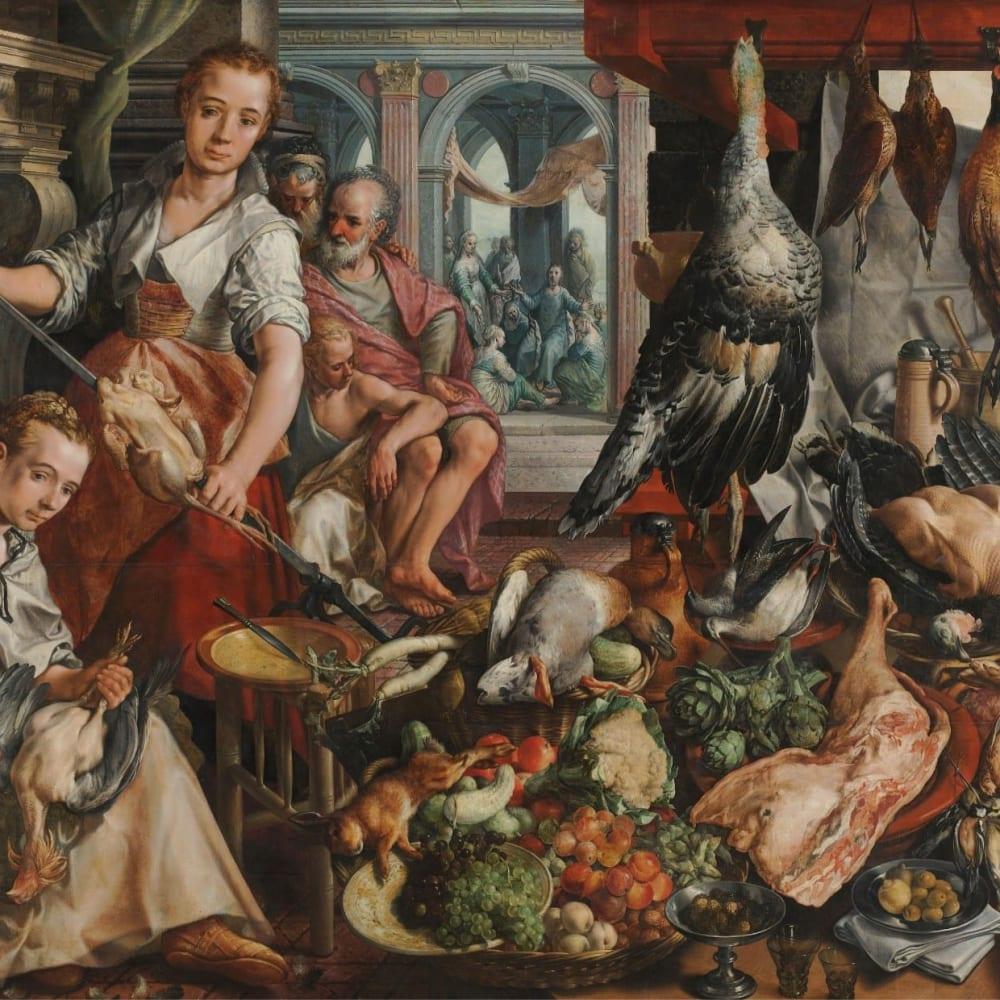 De welvoorziene keuken - Joachim Bueckelaer