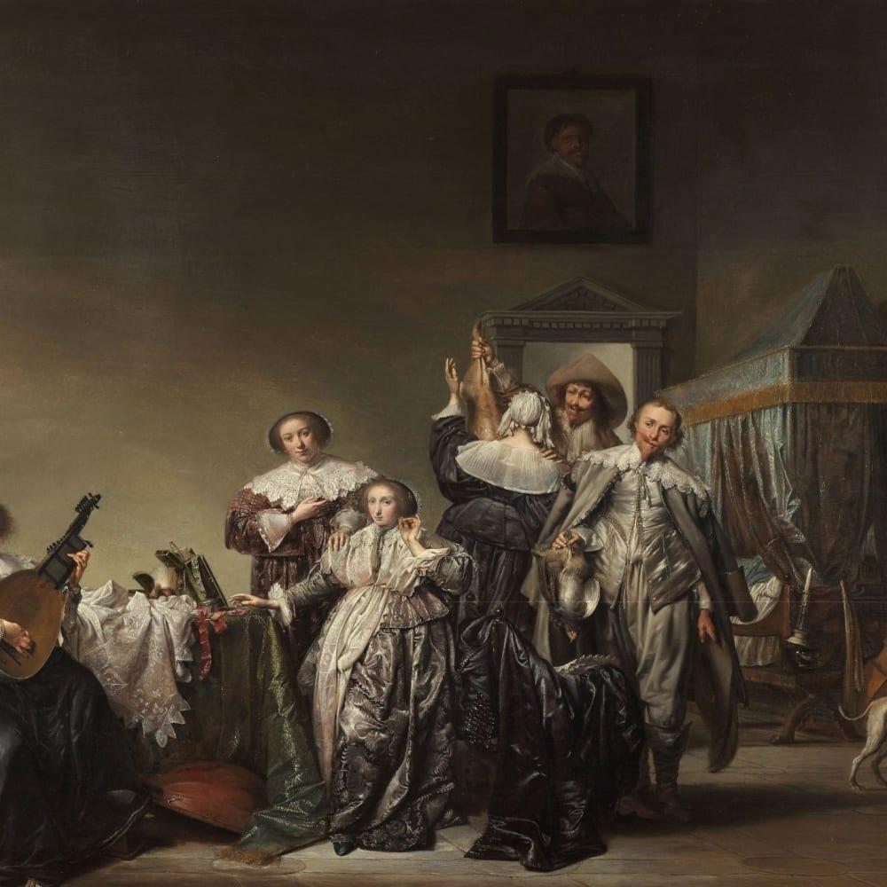 Galant gezelschap - Pieter Codde