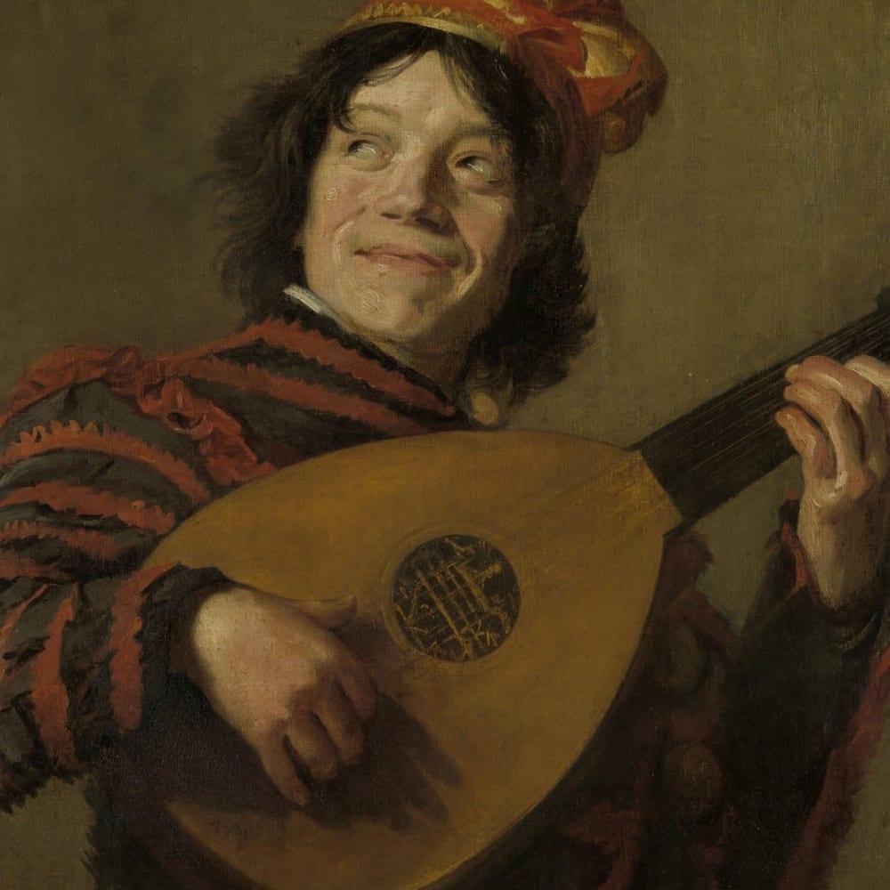 De luitspeler - Frans Hals