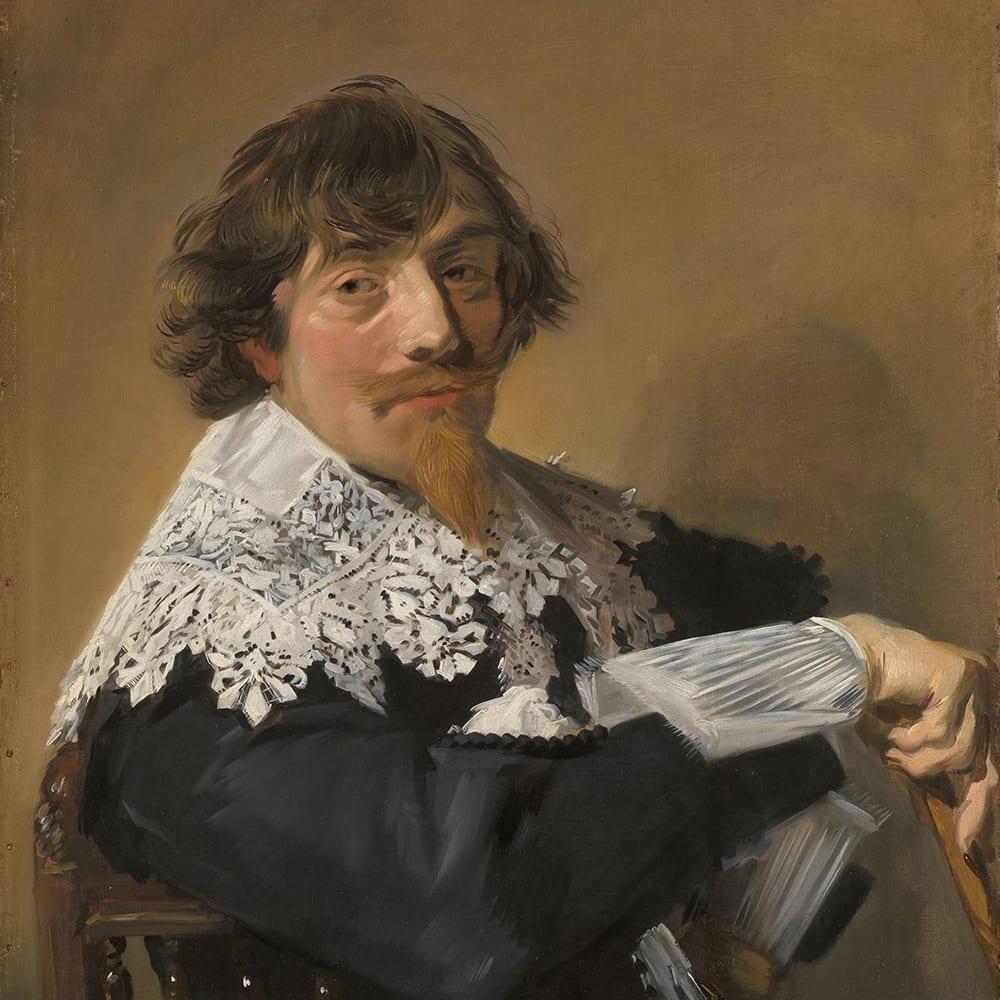 Portret van een man - Frans Hals